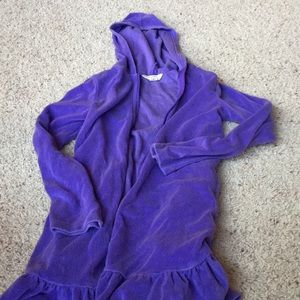 Lands end girls swim cover up size S